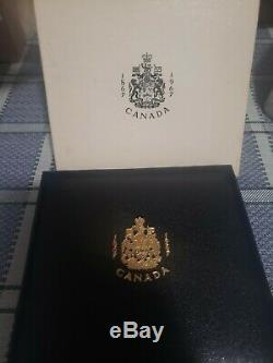 1867-1967 Canadian Centennial Set with $20 Gold Coin