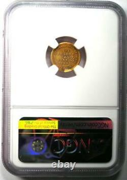 1903 Jefferson Commemorative Gold Dollar Coin G$1 Certified NGC AU Detail
