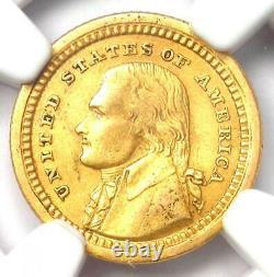 1903 Jefferson Louisiana Gold Dollar G$1 Certified NGC XF Details Rare Coin
