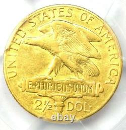 1915-S Panama Pacific Gold Quarter Eagle $2.50 Coin Certified PCGS XF40 (EF40)