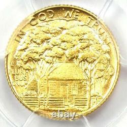 1922 Grant Gold Dollar G$1 Certified PCGS MS62 UNC Rare Commemorative Coin