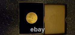 1981 Mark Twain Commemorative Medal American Arts 1 Oz Gold Coin
