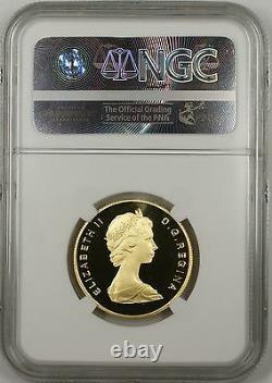 1983 Canada $100 Gold Commemorative Coin Gilbert's Landing NGC PF-69 Ultra Cameo