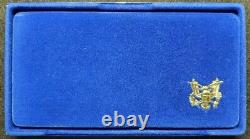 1986 Liberty Commemorative 3 Coin Proof Set Gold & Silver With Box & COA