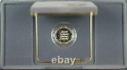 1991-W Mount Rushmore Proof $5 Dollar Gold Commemorative Coin as Issued