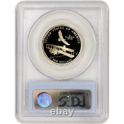 2003-W US Gold $10 First Flight Commemorative Proof PCGS PR69 DCAM