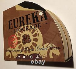 2004 Perth Mint $1 Eureka Stockade Silver Proof 999 Coin, Aus Gold Nuggets BU