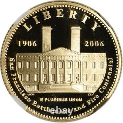 2006-S US Gold $5 San Francisco Old Mint Commemorative Proof NGC PF70 UCAM