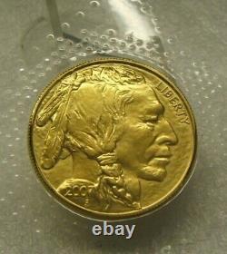 2007 American Buffalo 1 Oz Gold Coin Original U. S. Mint Cello Packaging