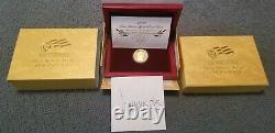 2007 W Martha Washington First Spouse 1/2 oz PROOF Gold Coin $10 X01