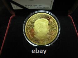 2008 Canada Four Seasons Moon Mask $300 Gold Coin