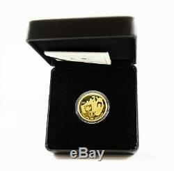 2010 $200 Fine Gold Coin Canada's First Olympic Gold Medal on Home Soil RCM