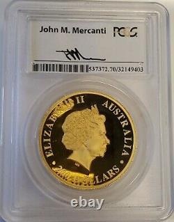 2014 Australia Australian 2 oz Wedge-Tailed Eagle HR Proof Gold Coin PCGS PR70
