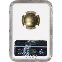2014-W US Gold $5 National Baseball Hall of Fame Commemorative BU NGC MS70