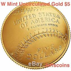 2016 W 100th Anniversary of the National Park Service $5 GOLD Uncirculated 16CB