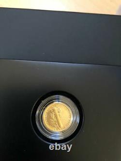 2016-W 1/10 OZ. 9999 GOLD CENTENNIAL MERCURY DIME COIN With BOX & COA