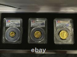 2016 W Gold Centennial Set PCGS SP70 FIRST STRIKE Flawless Set! QA APPROVED