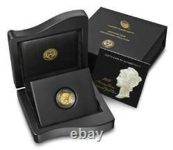 2016 W Mercury Dime Gold Centennial Commemorative Coin With Box & Coa