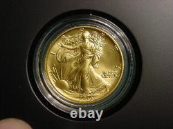 2016 W Walking Liberty 1/2oz. 9999 Gold Centennial Commemorative Coin OGP