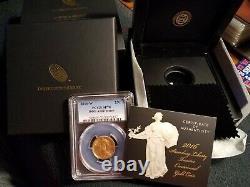 2016-W standing liberty centennial gold coin 100th Anniversary PCGS SP70