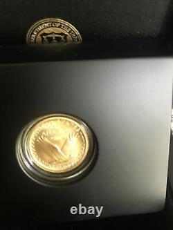 2016 W standing liberty solid 24 karat gold $10 coin. No Reserve