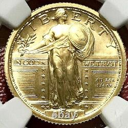 2016-w 1/4oz Gold 100th Anniv. Standing Liberty Quarter Ngc Sp-70 Early Releases