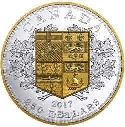 2017 Tribut First Canadian Gold Coin $250 Kilogram Pure Silver Proof Coin Canada