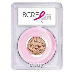 2018 W Breast Cancer Awareness $5 Gold Commemorative PCGS MS 70 First Strike