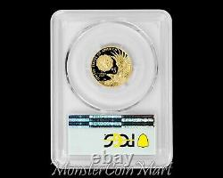 2019-W American Legion Gold $5 PCGS PR70DCAM FIRST DAY OF ISSUE - POP 7 COIN