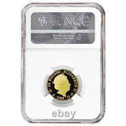 2020 Proof 25 Pound Gold Mayflower Commemorative NGC PF70UC FDI Mayflower Label