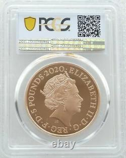 2020 Royal Mint King George III £5 Five Pound Gold Proof Coin PCGS PR70 DCAM