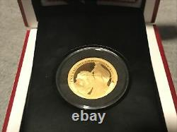 2020 Una And The Lion 1/4 OZ Gold Proof Coin