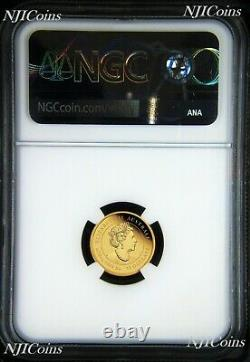 2021 P Australia PROOF GOLD $15 Lunar Year of the Ox NGC PF70 1/10 oz Coin FR