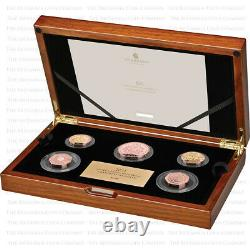 2021 Royal Mint Annual Gold Proof 5 Coin Commemorative Set with Special 50p