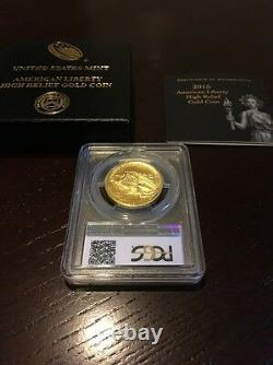American Liberty 2015 W High Relief Gold Coin PCGS MS70 MS 70 IN HAND