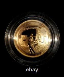 Apollo 11 50th Anniversary 2019 Proof $5 Gold Coin
