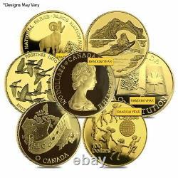 Canada 1/2 oz Proof Gold $100 Commemorative Coin (Random Year)