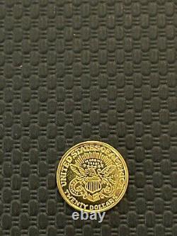 Commemorative U. S Gold Eagle Liberty 1886.999 Gold 1/100oz Rare BU