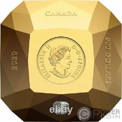 FOREVERMARK DIAMOND 3D Shaped Gold Coin 500$ Canada 2020
