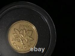 Farewell to the penny gold coin 1/25oz