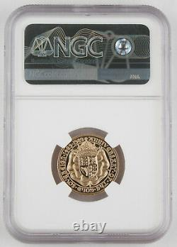 Great Britain 1989 Gold Proof Sovereign Coin NGC PF70 500th Anniversary KEY DATE