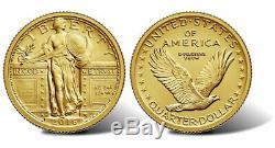 Set of 3 U. S. Mint 2016-W Coins Mercury Dime, Standing Liberty, Walking Liberty