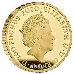 Three Graces 2020 UK Two-Ounce Gold Proof Coin VERY RARE