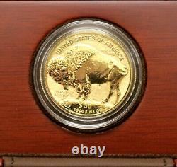 US 2013 American Buffalo 1oz Gold Reverse Proof $50 Coin B213