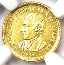 1904 Lewis & Clark Gold Dollar G$1 Certifié Ngc Au Détail Rare Coin