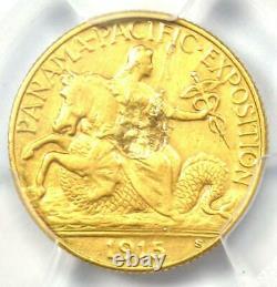 1915-s Panama Pacific Gold Quarter Eagle $2.50 Coin Certified Pcgs Xf Détails