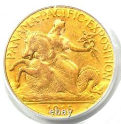 1915-s Panama Pacific Gold Quarter Eagle $2.50 Coin Pcgs Certified Xf / Au