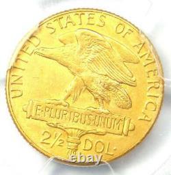 1915-s Panama Pacific Gold Trimestre D'eagle 2,50 $ Coin Certifié Pcgs Au Détails