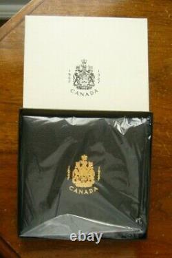 1967 Ensemble De Pièces Du Centenaire Du Canada De 20 $ D'or Et D'argent