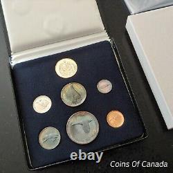 1967 Ensemble De Spécimens Du Canada Avec Une Pièce D'or De 20 $ Original Veuillez Lire! #coinsducanada